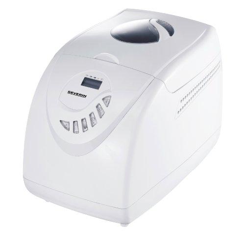 Severin BM 3990 Brotbackautomat / Inhalt 3.5 Liter (ca. 750-1000 g Brotgewicht) / weiß