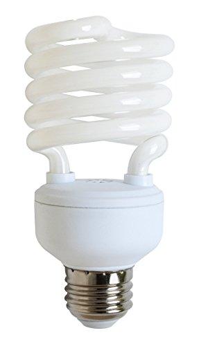 Hour Compact Lamp 15000 Fluorescent (Goodlite G-10849 23-Watt CFL 100 Watt Replacement 1620-Lumen T2 Spiral Light Bulb, Super Long 15,000 hour life (13.9 Years) 25-Pack)