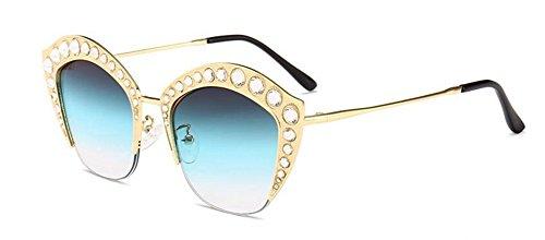 soleil retro du de polarisées rond métallique B vintage style inspirées cercle en Lennon lunettes U1qw5Yy