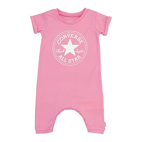- Converse Chuck Taylor Patch Romper - Pink Glow - 9-12 Months / 75-80 cm