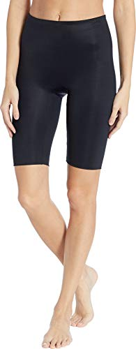 (SPANX Women's Power Conceal-Her Extended Length Shorts Very Black Medium)
