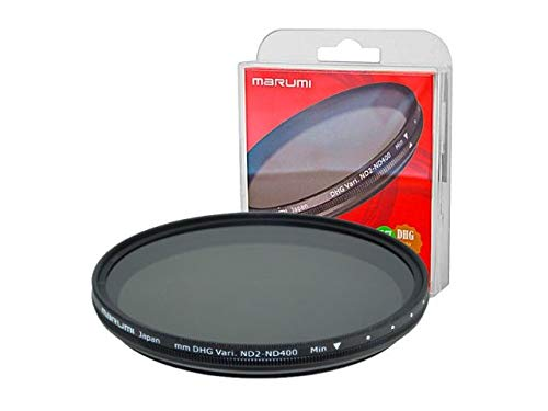 Marumi 62mm 62 DHG Vari ND ND2 to ND400 400 Neutral Density Fader Filter Japan Digital High Grade