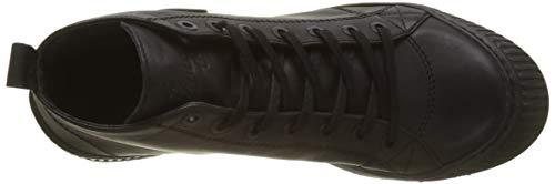 Pataugas Femme Hautes 850 noir Rocker F4d n Noir Baskets rvZarq