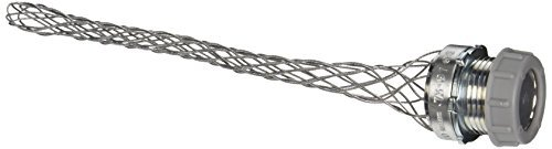 Hubbell 073031210 Dust Tight Strain Relief, 1'' Insulated, 0.73''-0.97'' Cable