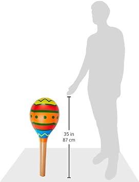 Beistle 57897 Inflatable Maraca 30-Inch