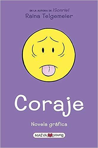 Coraje: Edición en español de España, no latino Novela gráfica ...
