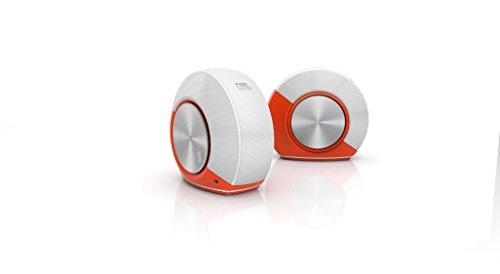 JBL Pebbles Plug and Play Stereo Computer Speakers - Orange