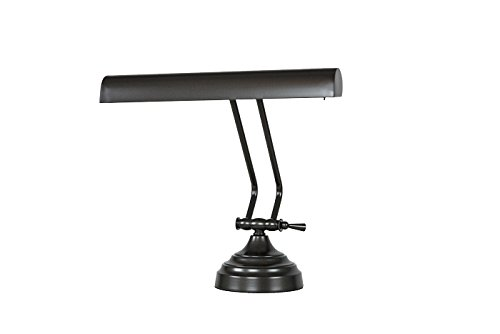Cocoweb DLED12ORBD Shade LED Piano Desk Lamp, 12'', Rubbed Bronze