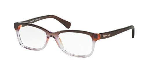 Coach Women's HC6089 Eyeglasses Purple Brown Gradient/Brown ()