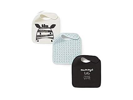 Baberos para bebé 3 piezas Animal patrón Toddler bebé saliva toallas bebé baberos Drool baberos para