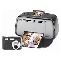 HP M447 Photosmart Compact Photo Studio Digital Camera with