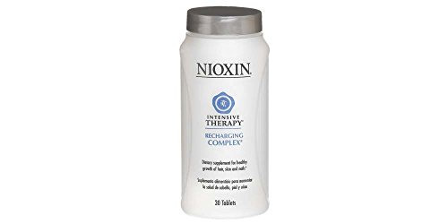 Nioxin Intensive Therapy Recharging Complex 90 Count Dietary Supplement for the Healthy Growth of Hair and to Prevent Hair Loss, Skin and Nails by Nioxin