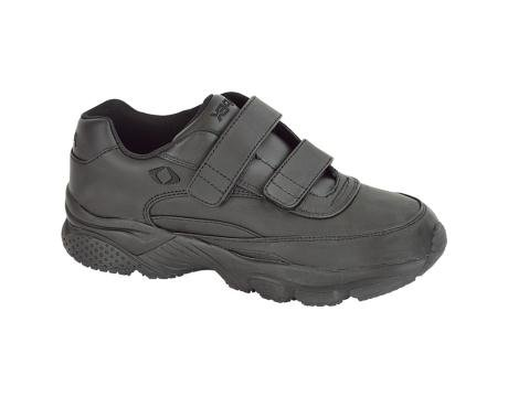 Apex Ambulator G8010M Men's Athletic Shoe: Black 12.5 Medium (C-D) Velcro
