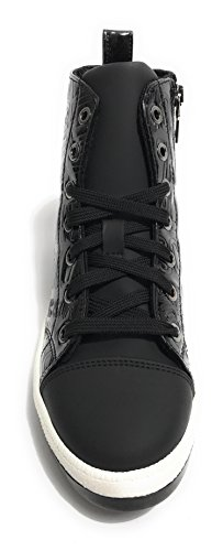 Moschino, Dames Tennisschoen Zwart Zwart
