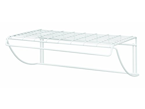 (ClosetMaid 8278 18-Inch Wide Laundry Utility Hanger Shelf)