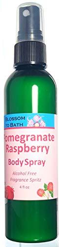 (Blossom to Bath Body Spray, Pomegranate Raspberry (4 ounce))