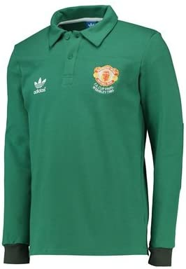 Adidas Manchester United Originals 1985 Goalkeeper Jersey Green Amazon Co Uk Sports Outdoors