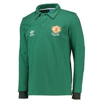 e6fc84235a4 Manchester United adidas Originals 1985 Goalkeeper Jersey Green   Amazon.co.uk  Sports   Outdoors