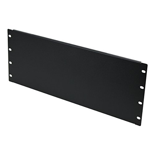 Mount Panel Spacer For 19-Inch Server Network Rack Enclosure Or Cabinet Black (4U) (Blanking Panel)