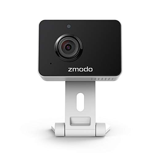 Zmodo Mini Pro -WiFi Indoor Camera for Home Security, 1080p HD Smart IP Cam with Night Vision, 2-Way Audio, AI-powered…