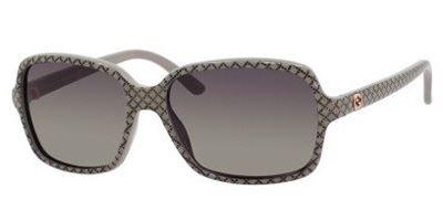 Gucci GG3631/S Sunglasses-0DXQ Beige Glitter (R4 Gray Green Gradient Lens)-56mm