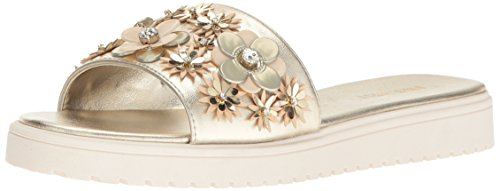 Image of Nine West Women's Rosolas Patent Jelly Sandal