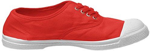 Rouge Lacets Baskets Bensimon Tennis Femme rouge 6C0azw