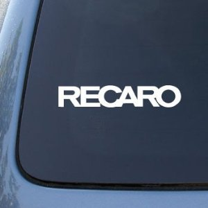 Recaro Racing Seats - Car, Truck, Notebook, Vinyl Decal Stic