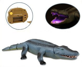 Liberty Imports Remote Control Crocodile Toy RC Walking Alligator with Lights and Sound Effects by Liberty Imports (Image #4)