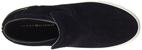 Tommy Hilfiger J1285eanne 4b - Zapatillas Mujer Azul (Midnight 403)