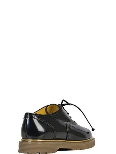Zapatos De Cordones F159476PCA001 Charol Olympia Charlotte Cuero De Negro Mujer 086gwR