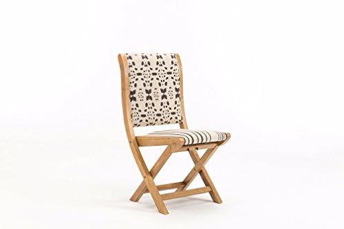 Leather Folding Chair - Boraam 85008 Misty Folding Chair