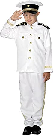 Victorian Kids Costumes & Shoes- Girls, Boys, Baby, Toddler Boys Captain Costume $97.26 AT vintagedancer.com