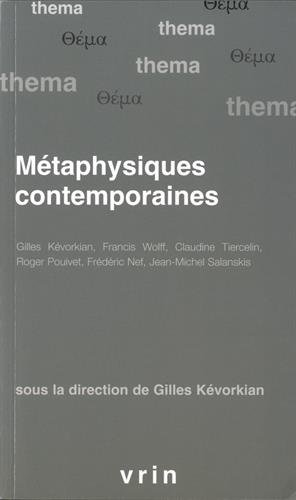 Metaphysiques Contemporaines (Thema) (French Edition) ebook