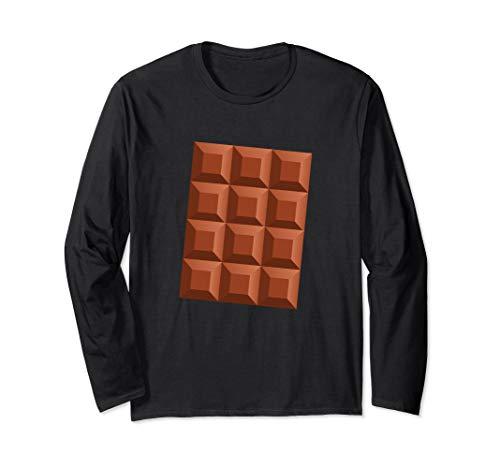 Chocolate Bar Group Matching Halloween Party DIY Costume Tee Long Sleeve ()