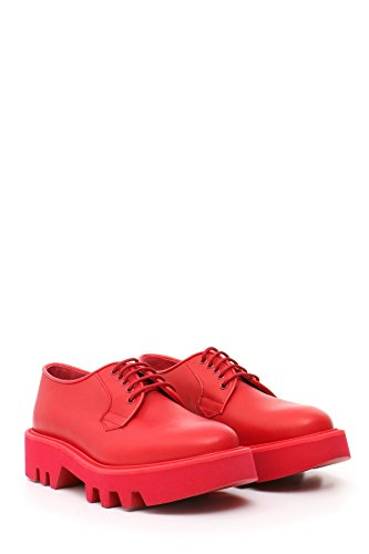 Leather Crown Damen MCBI185029O Rot Leder Schnürschuhe