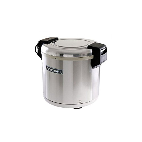 (Adcraft RW-E50 50-Cup Rice Warmer, Stainless Steel, 100-Watts, 120v )