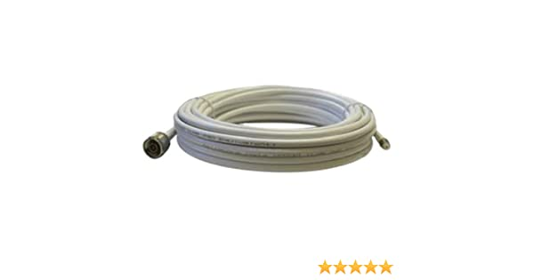 Amazon.com: Cellphone-Mate CM240 White 40 Ft Ultra-Low-Loss Coaxial Coax Cable CM004-40-FN: Electronics