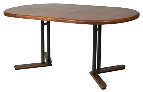 Impacterra QLTK540194763737 Tohoku Extendable Dining Table, (Oval Extendable Dining Table)