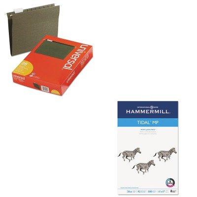 KITHAM162024UNV14115 - Value Kit - Hammermill Tidal MP Copy Paper (HAM162024) and Universal Hanging File Folders (UNV14115)