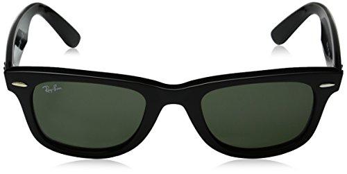 Ray Wayfarer Sol 50 de 901 Black Unisex Gafas Ban Adulto BBwPrpqg