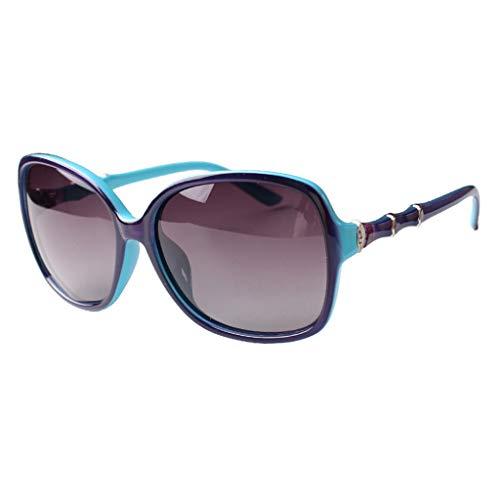 Azul Azul Redonda Hembra Elegantes Marea Que Cara Sol Polarizadas Personas color De Gafas Conducen Rojas Grande F Nuevas Tamaño Odshy wqHaSS