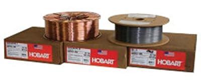 ".045"" ER70S-3 Hobart Quantum Arc 3 Copper Coated Carbon Steel MIG Welding Wire 600# RoboPak, Package Size: 600 US pound"