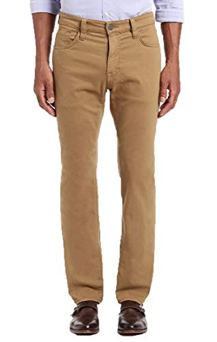 34 Heritage Men's Courage Straight Pants, Brown Washed Luxe 33 x 34