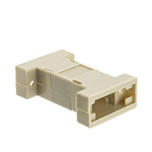 - GOWOS DB9 / HD15 (Serial/VGA) Dual Head Plastic Hood