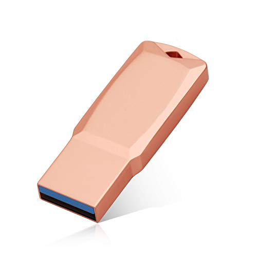 FYEO 1TB USB 3.1 Flash Drives Pen Drive Memory Stick Thumb Drive USB Drives (1TB Rose Gold-B)