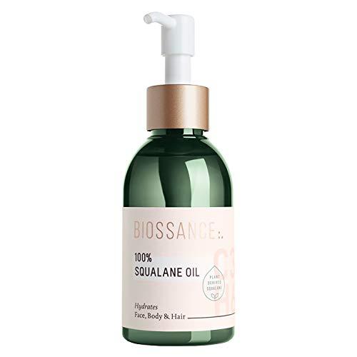 Biossance 100% Squalane Oil - Pure Squalane Oil for Hydrating + Nourishing Skin - Vegan + Fragrance-Free (100ml)