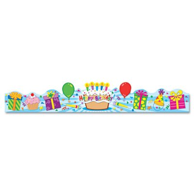 Student Crown, Birthday, 4 x 23 1/2, 30/Pack, Sold as 30 Each