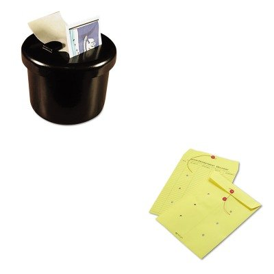 Button Colored Interoffice Envelope - 4