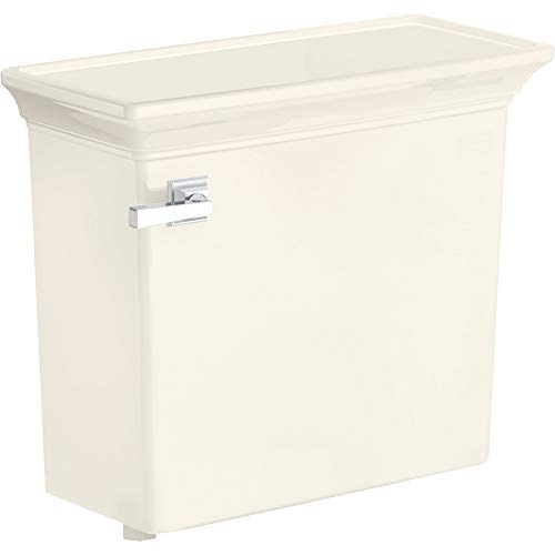 - American Standard 4216228.222 Town Square S Right Height Elongated Toilet Tank Only in Linen,
